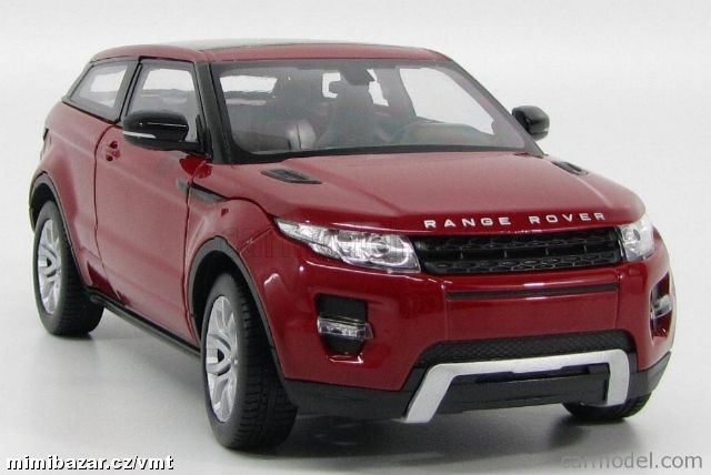 Welly 1:24 Land Rover 2011 Evoque (red)