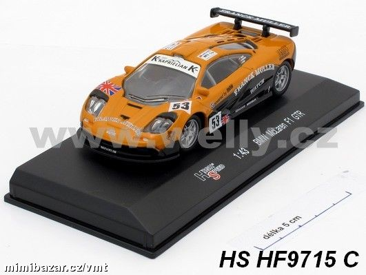 High Speed 1:43 BMW McLaren F1 GTR No. 53