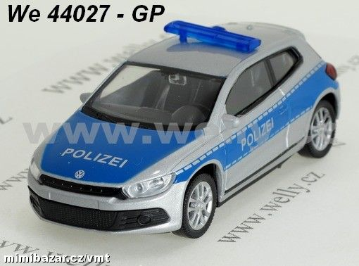 Welly 1:43 VW Scirocco Polizei