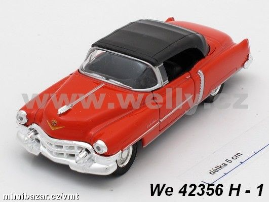 Cadillac ´53 Eldorado soft top (red)