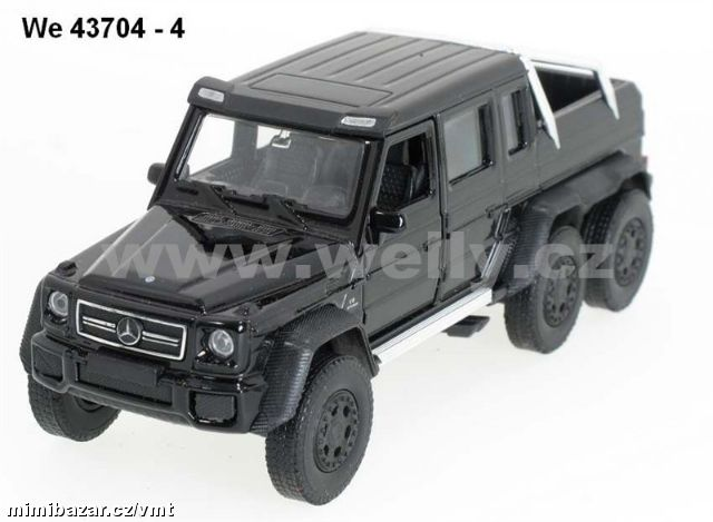 Welly 1:34-39 Mercedes-Benz G 63 AMG 6x6 (black)