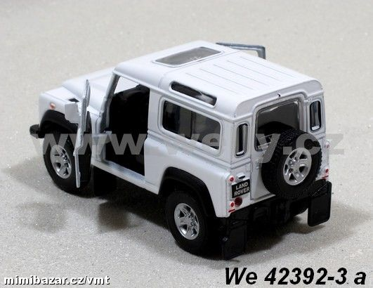 Welly 1:34-39 Land Rover Defender (white)