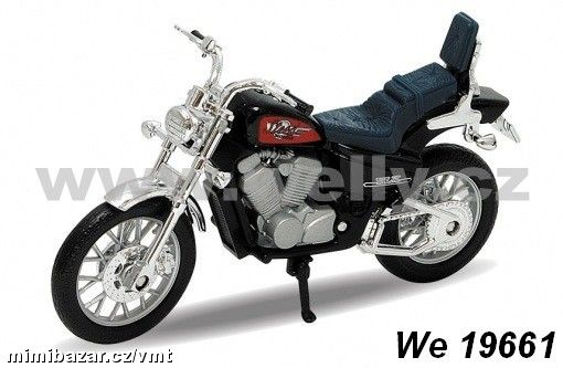 Welly 1:18 Honda Steed 600 (black)