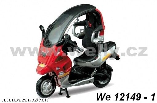 Welly 1:18 BMW C 1 (red)