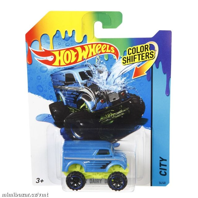 Hot wheels auto color